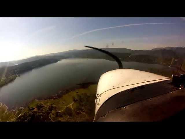 Take Off and landing Gravelly Valley (1Q5) at lake Pilsbury