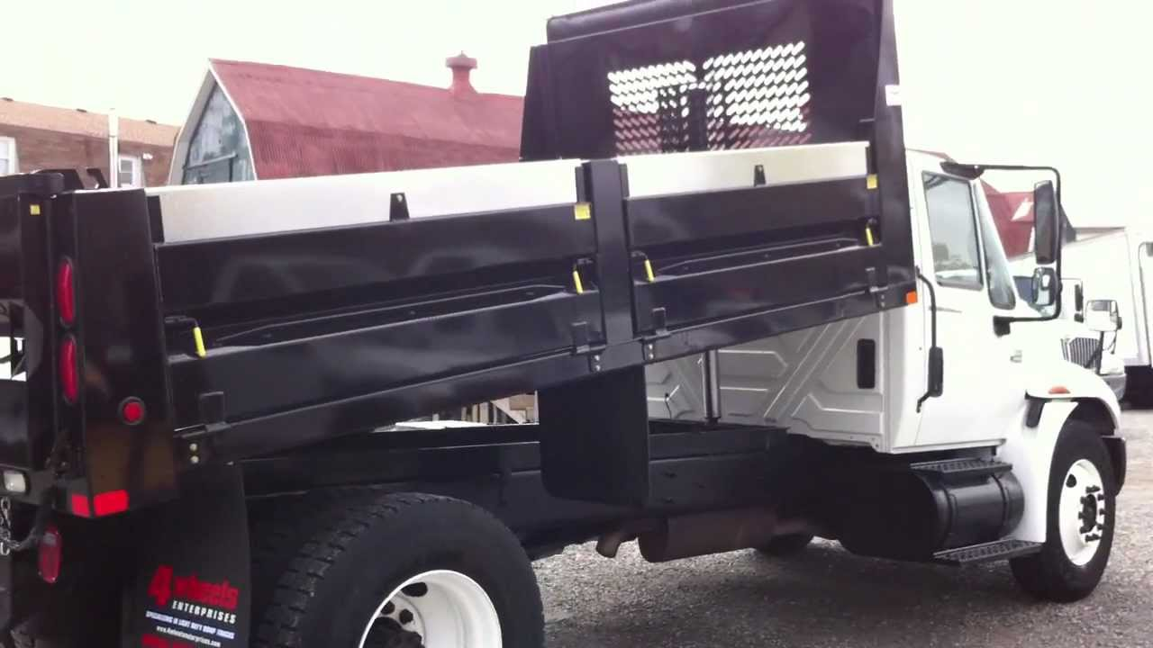 2006 International 4300 Dump Truck For Sale  YouTube