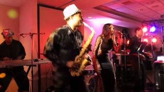 The Dee Dee Wilde Band featuring Vince Broomfield on Saxophone