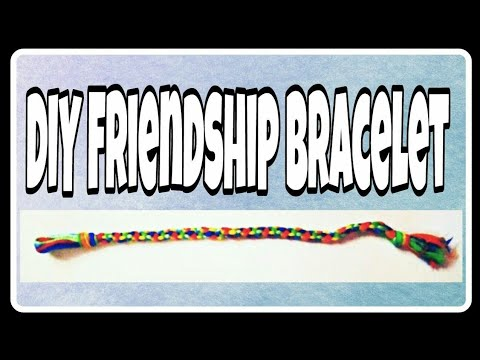 DIY -embroidery thread bands/easy friendship bracelet/hand bands/how to make thread bracelet/ raavee