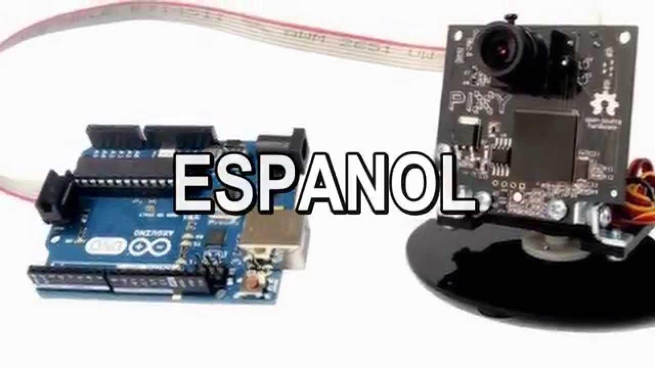 Camara pixy con arduino español youtube