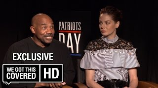 Exclusive Interview: Michelle Monaghan and Michael Beach Talk Patriots Day [HD]