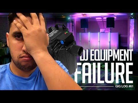 DJ GIG LOG: DJ Equipment FAILs day of Wedding | 2018 GIG LOG Updates