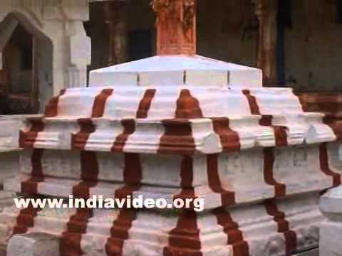 Virupaksha temple at Hampi in Bellary district