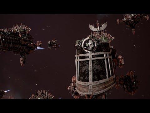 Imperial Navy (Adeptus Mechanicus) vs Ork Pirates! Rank 109 - Battlefleet Gothic Armada