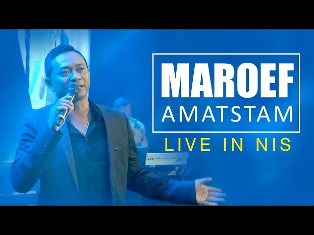 MAROEF AMATSAM - LIVE IN NIS