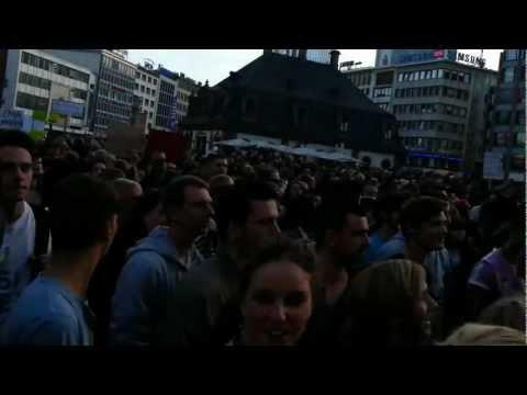 Kultur Tanz Demo Frankfurt - Abfahrt