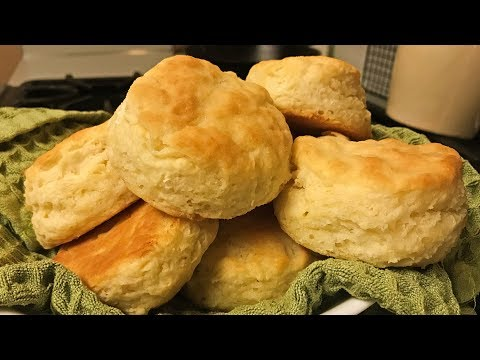 EZ Buttermilk Biscuits (1 cup of buttermilk)