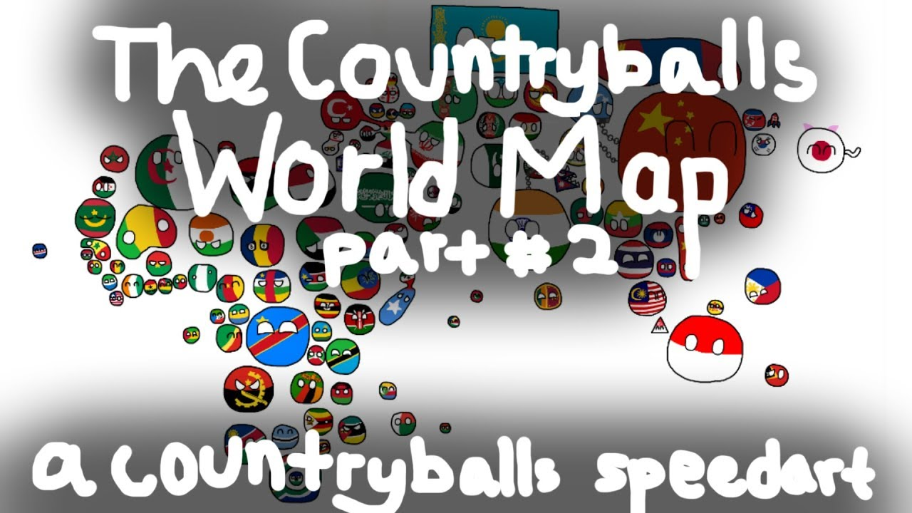 Asia the countryballs world map 2 youtube the countryballs world map 2 gumiabroncs Choice Image