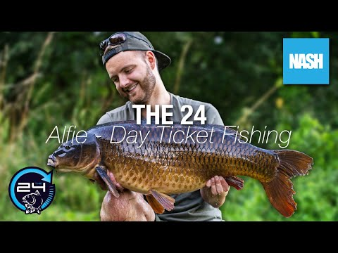 Alfie Willingale - The 24 - Day Ticket Fishing - Carp Fishing On The Clock!
