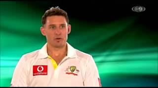 Australian Cricket team impersonates Richie Beaund