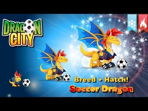 [Dragon City] ผสม + ฟักไข่มังกรสุดยอดนักเตะฟุตบอล Breed + Hatch Soccer Dragon   amSiNE