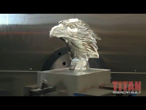 CNC Machining Titan's Eagle