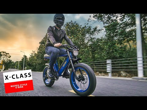 Ariel Rider X Class E Bike - Moped Style Electric Bike