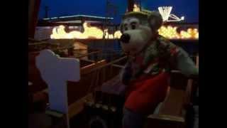 Wonder Bear rides the Galleon ship at Gillian