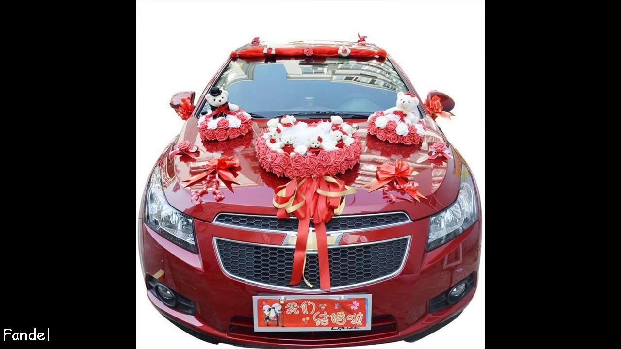 Easy DIY Wedding Car Decoration Ideas - YouTube