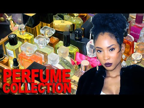 Perfume Collection 2017   All Of Vava Couture's Fragrances! (Over 50 Bottles!! Chanel, Creed, Gucci)