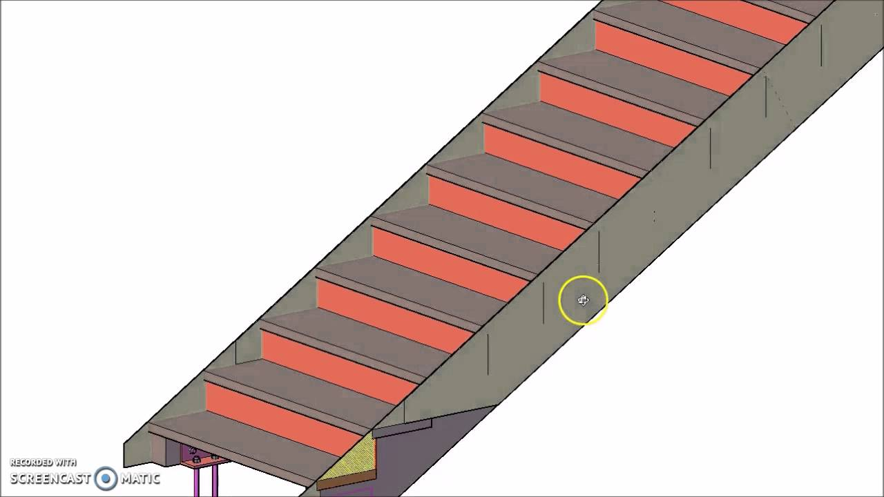 Double Stringer Timber Frame Stairs Detail   YouTube
