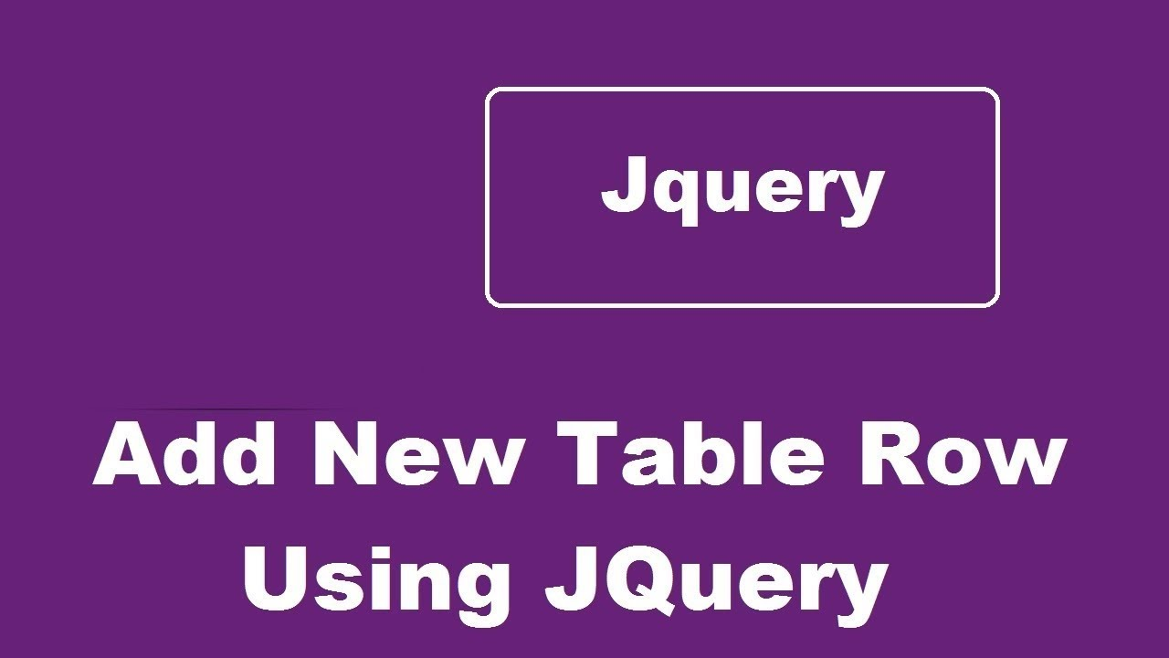 add remove table row using jquery