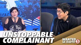 Gambar cover Complainant na unstoppable sa kakasalita, sinukuan ni Idol Raffy