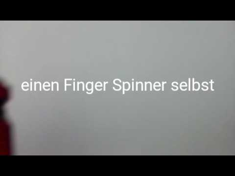 finger spinner einfach selber bauen youtube. Black Bedroom Furniture Sets. Home Design Ideas