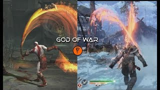 Evolution of Blades of Chaos in God of war   GAMEPLAY