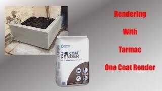 Rendering With Tarmac One Coat Render