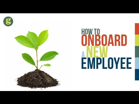 How to Onboard a New Employee
