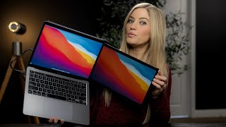 Dual-Screen Laptop Monitors! Mobile Pixels DUEX Lite & DUEX Plus Review!