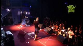 BEGGING FOR INCEST - live in KIEV SONIC MASSACRE-3 (17.09.2011). Official video mix from organizer.