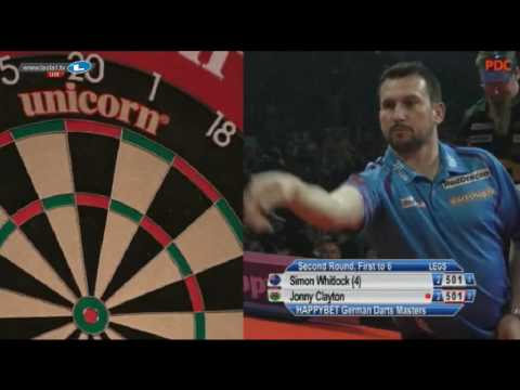2017 German Darts Masters Round 2 Whitlock vs Clayton