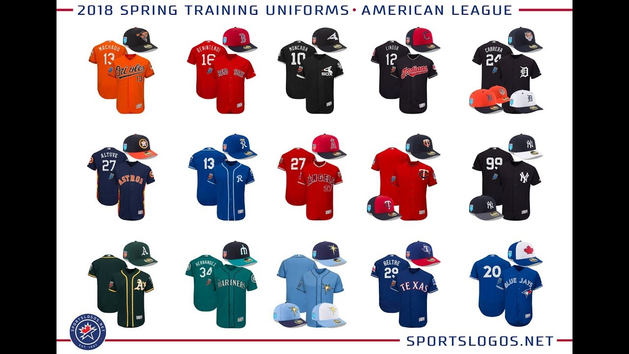 533d9012a491c5 Ranking All 30 MLB Spring Training Jerseys (2018 Edition) - YouTube