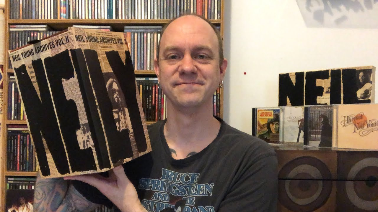 Download Neil Young - Archives Vol. II (1972-1976) - New Boxset Review & Unboxing