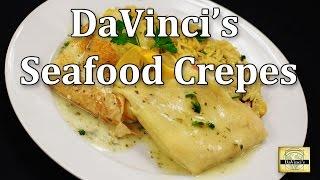 Davinci's Seafood Crepes