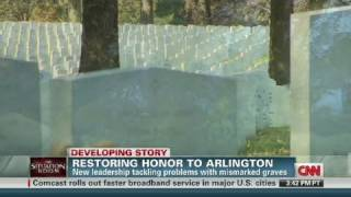 CNN: Miss-marked graves at Arlington