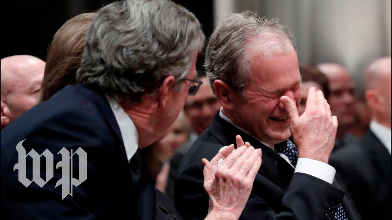 10 Times George H W Bush S Humor Brought Laughter To His Loved Ones In Mourning Youtube