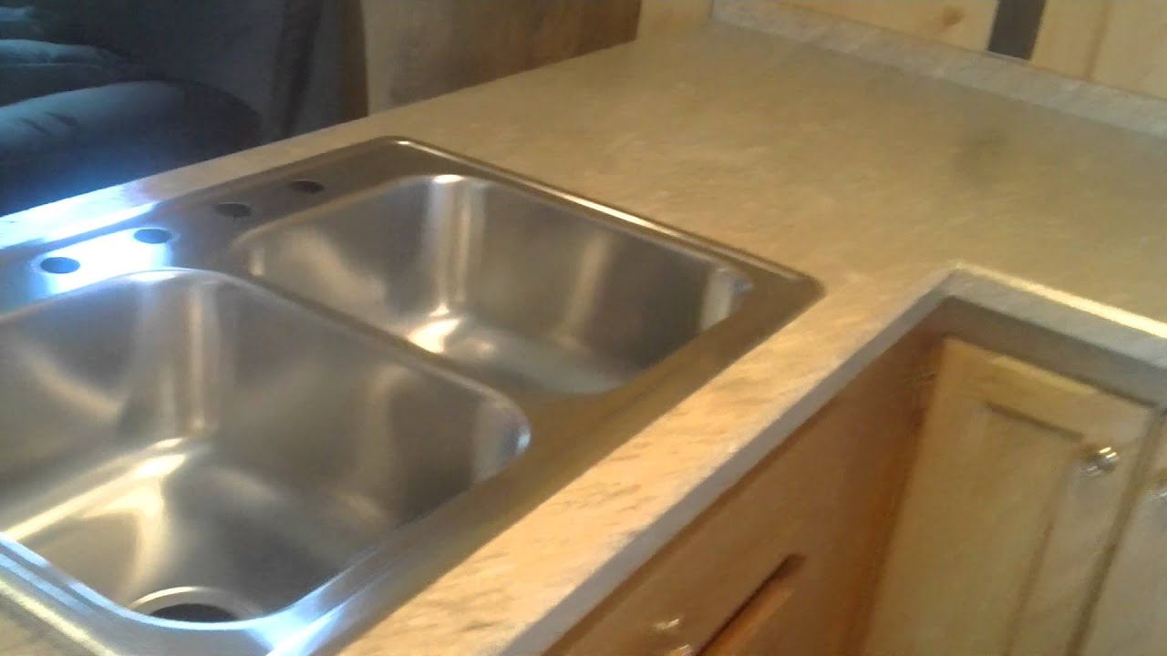 Laminate Countertop Install With Bevel Edge