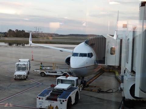 United Airlines B737-900ER(SWL) ORLANDO - WASHINGTON