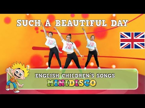 Such A Beautiful Day | Children's Songs | DANCE INSTRUCTION | Mini Disco | NEW 2018