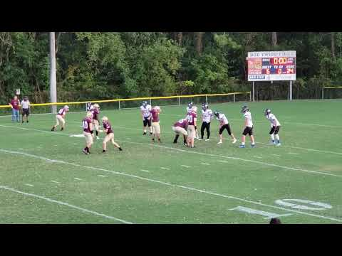 Daniel's first touchdown with Harvest Community School!
