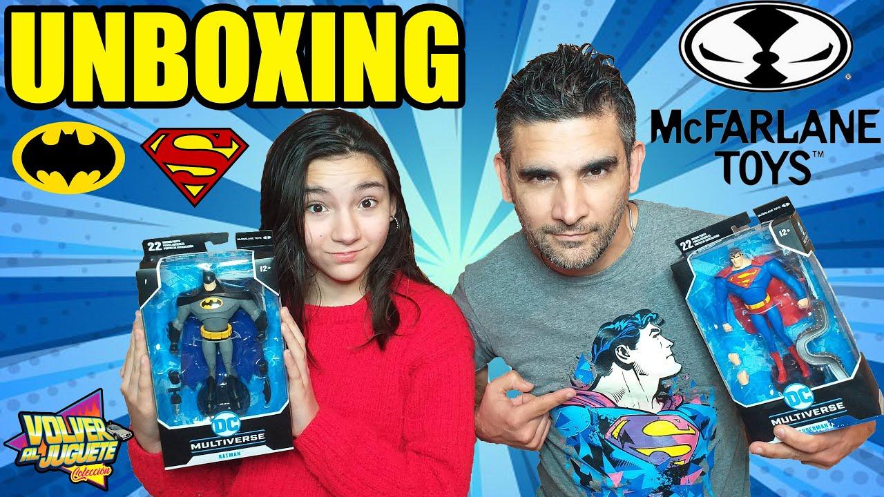 McFARLANE TOYS  DC MULTIVERSE de Batman y Superman La Serie animada