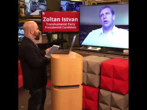 Our interview with Zoltan Istvan, Presidential candidate with the Transhumanist Party