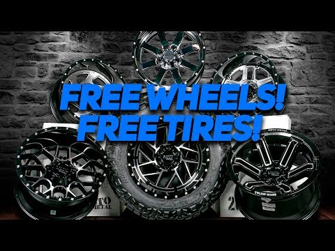 FREE Wheels AND FREE Tires! Moto Metal | Nitto | Custom Offsets