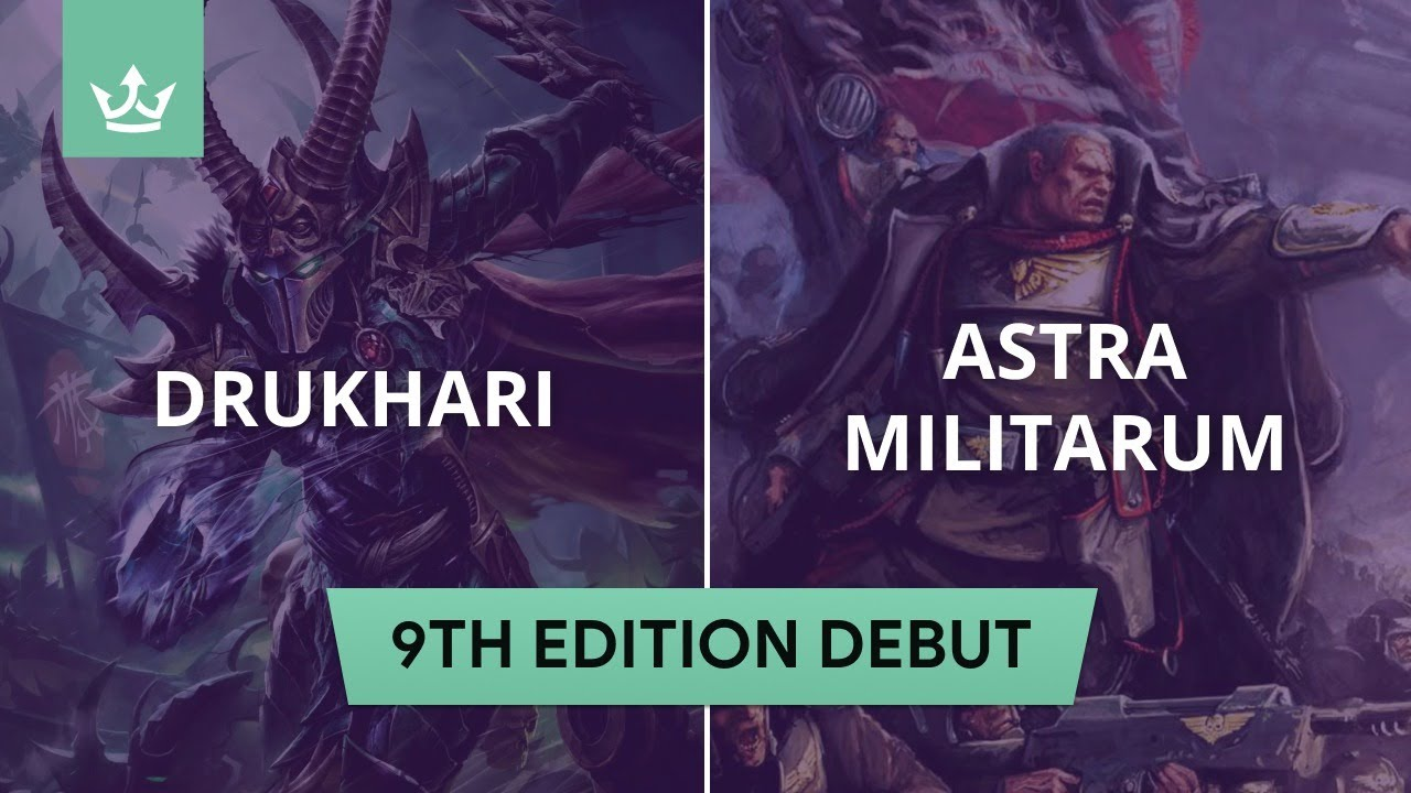 Drukhari vs Astra Militarum - 9th edition 40k battle report