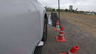 2019 Mitsubishi Triton L200 1st Test Off-Road 4 Station (Front Wheel View)