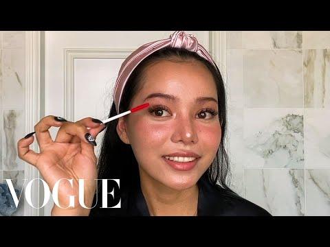 Bella Poarch's Signature TikTok Makeup Routine | Beauty Secrets | Vogue