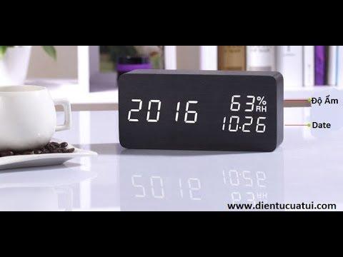 Đồng hồ để bàn cao cấp dành cho Doanh nhân thành đạt  - eChipKool SHOP
