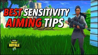 How to find YOUR Perfect Sens + BEST Fortnite Aiming Tips | DWreck's Sensitivity (Fortnite)