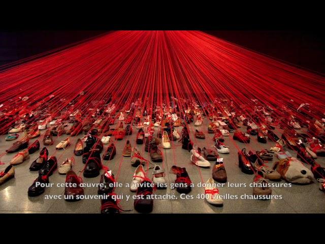 Trois minutes d'art - Chiharu Shiota