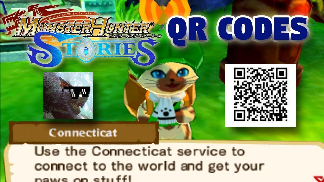 Monster Hunter Stories Ita Qr Codes Youtube